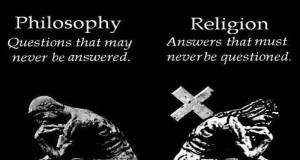 ความแตกต่างระหว่างปรัชญากับศาสนา