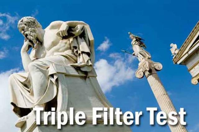 triple filter test